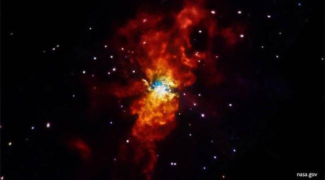 Evrendeki en büyük yıldız patlaması tespit edildi
