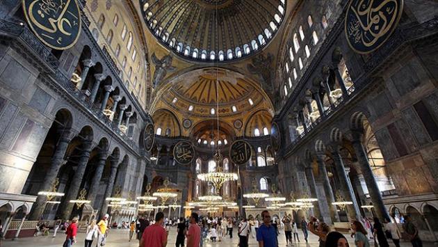 2015te en çok ziyaretçiyi Ayasofya Müzesi ağırladı