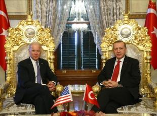 Erdoğan, Bideni kabul etti
