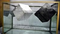 Mermer tozu ve külden suda batmayan beton üretildi