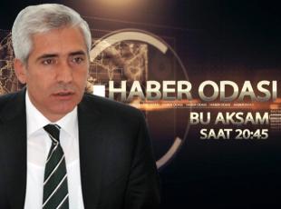 Galip Ensarioğlu TRT Haberin konuğu