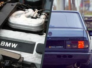 Şahine BMW motoru taktırdı
