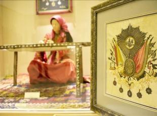 Sultan 2. Mahmudun tuğrası Etnoğrafya Müzesinde