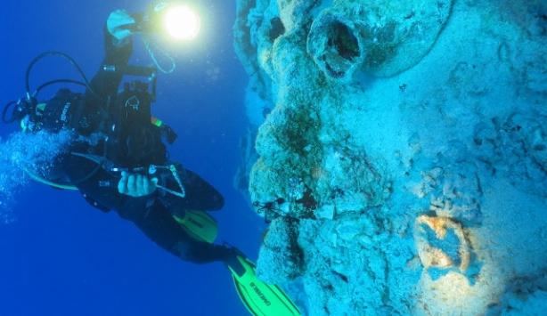 Muğlada 4 bin yıllık gemi batığına rastlandı