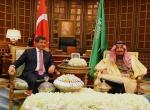 Başbakan Davutoğlunun Suudi Arabistan temasları