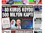 Gazete Manşetleri 1 Şubat 2016