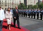 Cumhurbaşkanı Erdoğan Şilide