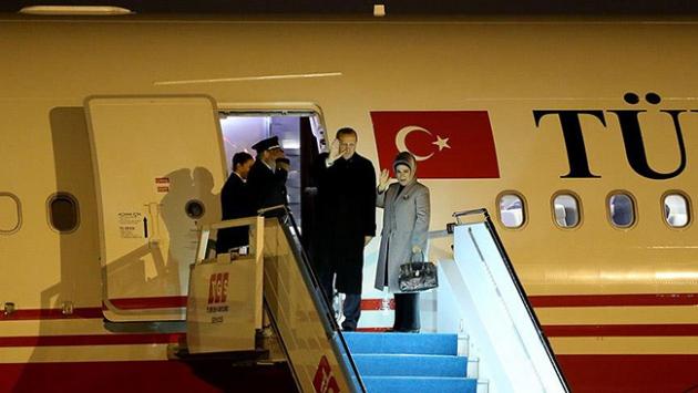Cumhurbaşkanı Erdoğan Peru'dan ayrıldı