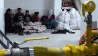 Kazan dairesine sığınan terör mağduru aileye yardım eli