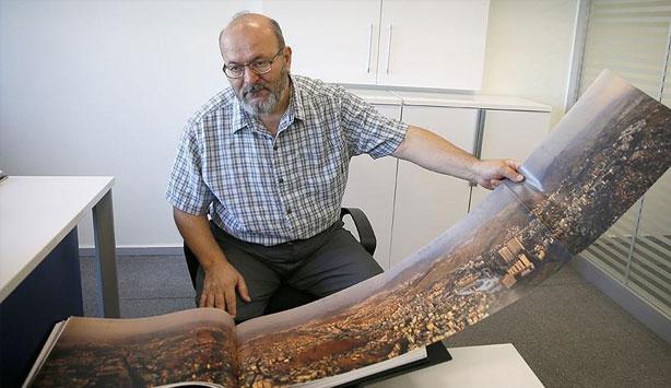 Dünyanın ilk Mekke panoraması albümünü yaptı