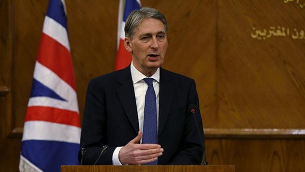 Hammond: Zorluklara rağmen süreç devam etmeli