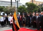 Cumhurbaşkanı Erdoğan Ekvadorda