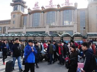Çin'de büyük göç başladı