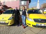 Bu taksiler sadece kadınlara...