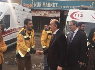 Bakan Müezzinoğlu Cizre'de