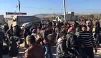 Suriyeliler Kilis sınırına geldi