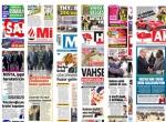 6 Şubat 2016 Gazete manşetleri
