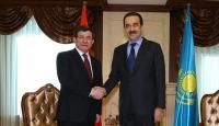 Başbakan Davutoğlu, Masimov ile görüştü