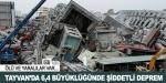 Tayvanda şiddetli deprem