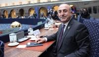 Dışişleri Bakanı Çavuşoğlu ikili temaslarda bulundu