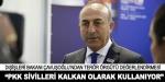 """""""PKK sivil halkı canlı kalkan olarak kullanıyor"""""""