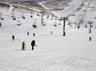 Lübnan'da kayak sezonu!