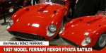 Ferrrari 335 Sport Scaglietti rekor fiyata satıldı
