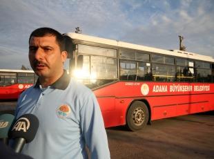 Otobüs şoförü hayat kurtardı