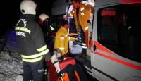 Erzincanda trafik kazası: 4 yaralı