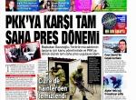 8 Şubat 2016 Gazete manşetleri