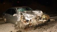 Muğlada trafik kazası: 1 ölü, 2 yaralı