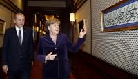 Cumhurbaşkanı Erdoğan Merkeli kabul etti