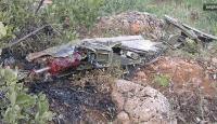 Libyada savaş uçağı düştü