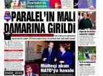 9 Şubat 2016 Gazete manşetleri