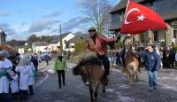Belçikanın Türk köyünde karnaval coşkusu