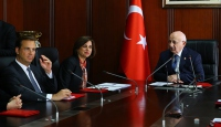 TBMM Başkanı Kahraman TÜSİAD heyetini kabul etti