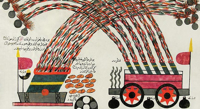 Roketi Osmanlı icat etti