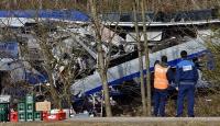 Almanyadaki tren kazasında ölü sayısı yükseldi