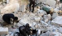 Rus uçakları Halepte sivilleri vurdu