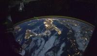 Uzaydan dünyanın sıradışı görüntüsü
