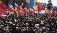 Moldovada hükümet protesto edildi