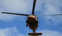 Egede Yunan askeri helikopteri düştü