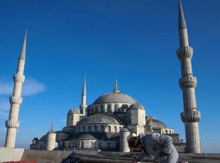 400 yıllık minare yeniden örülüyor