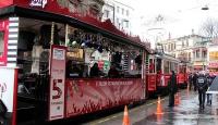 Nostaljik tramvaylar 102. yaşını kutladı