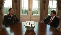 Başbakan Davutoğlu Orgeneral Akarı kabul etti