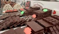 Kahve ve çikolata festivali renkli görüntülere sahne oldu