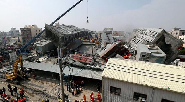 Tayvandaki depremde ölü sayısı arttı