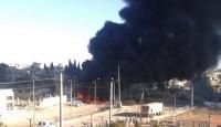Saldırıya uğrayan Azez Ulusal Hastanesi faaliyetlerine ara verdi