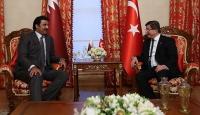 Başbakan Davutoğlu, Katar Emirini kabul etti