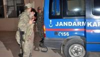 Kiliste askeri yasak bölgede 10 kişi yakalandı